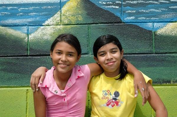 Niños de Costa Rica