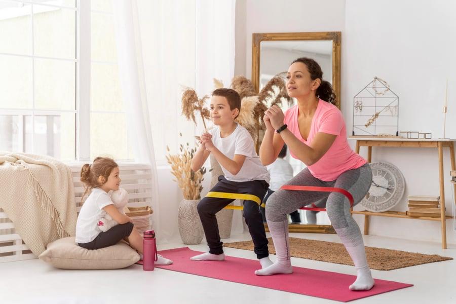 5 ejercicios para que tus hijos practiquen en casa